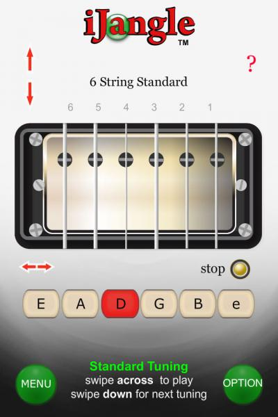 Guitar Tuner For Java Opera Mobile Store