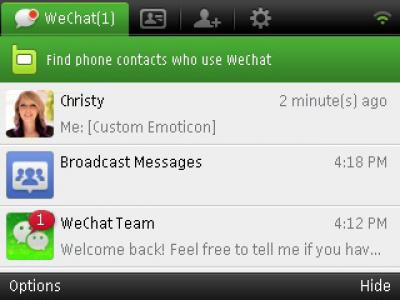 wechat 4.5 for nokia c6-00