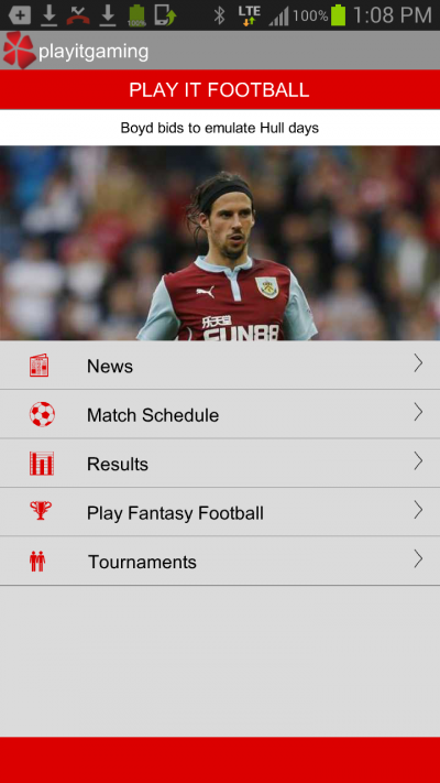 Play It Football for Java - Opera Mobile Store