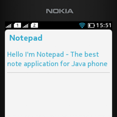 Notepad for Java - Opera Mobile Store
