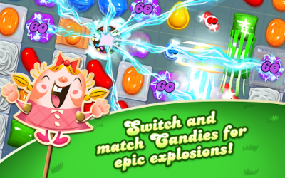 Candy Crush Saga for Java - Opera Mobile Store